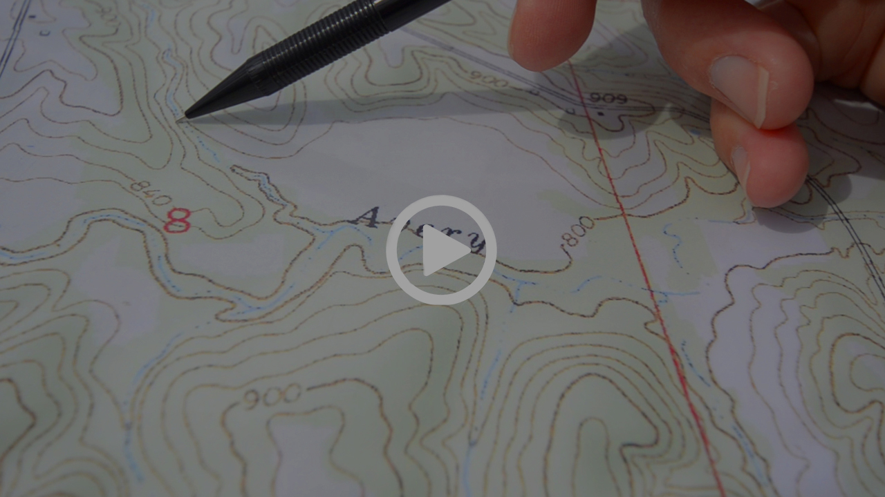 reading & understanding aerial & topo maps